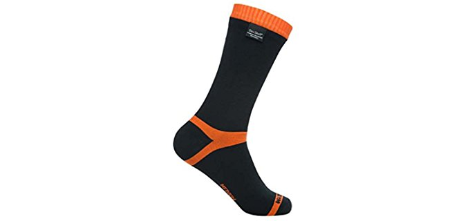 Dexshell Unisex Thermal Running Socks - Calf High Waterproof Socks for Running & Hiking