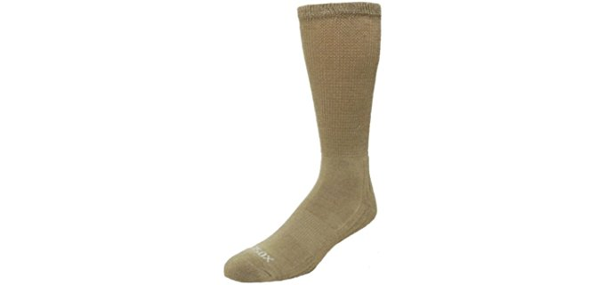 Ecosox Unisex Bamboo Diabetic Socks - Eco-Friendly Dress Socks for Diabetics