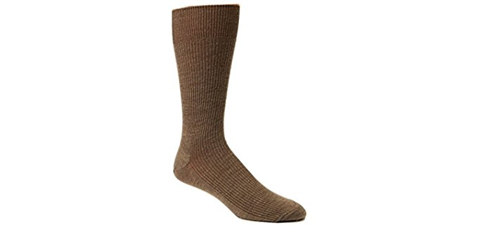 Sox Shop Unisex Merino Wool Dress Socks - The Softest Wool Diabetic Dress Socks