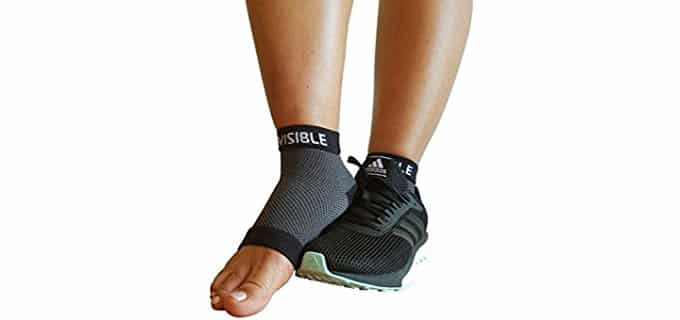 BeVisible Sports Unisex Compression Socks - Ankle Compression Socks for Plantar Fasciitis