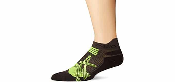 ASICS Unisex Kayano Running Socks - Single Tab Kayano Style Running Socks