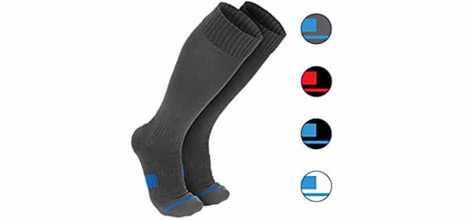 Wanderlust Unisex Therapeutic Pain Relief Compression Socks - Advanced Medical-Grade Cotton Compression Socks