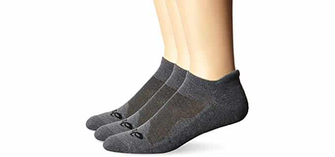 ASICS Unisex Cushion Low Cut - Cushioned Running Sock