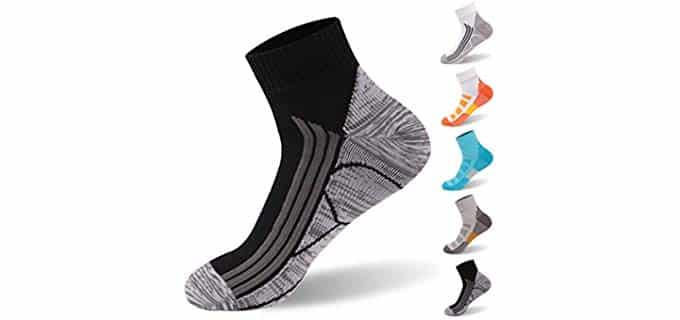 Randy Sun Unisex Waterproof - Waterproof Hiking and Running Sock