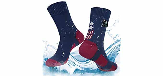 Layeba Unisex Trekking - Waterproof Hiking and Running Sock