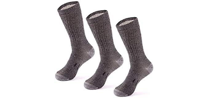 Meriwool Unisex Merino Wool - Wool Compression Socks