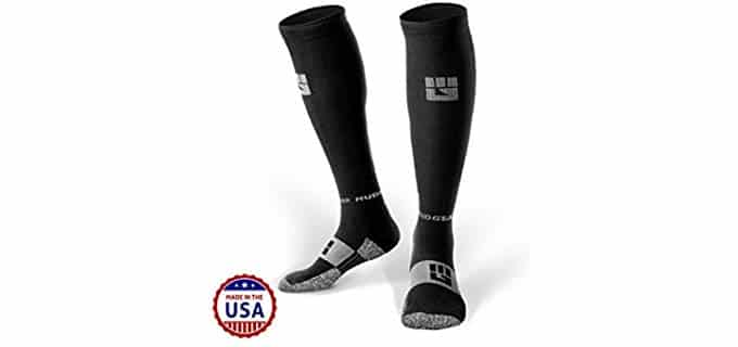 Mudgear Unisex Knee High Compression Socks - Knee High Compression Socks for Athletes