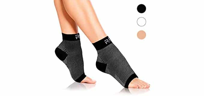 Run Forever Unisex Sport - Plantar Fasciitis Running Compression Socks