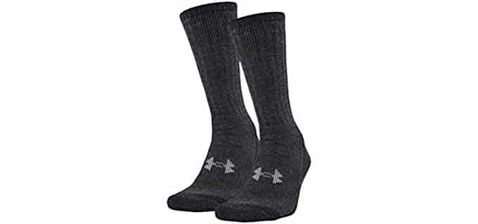 Under Armor Unisex Coldgear - Cold Weather Running Socks