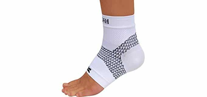 Zensah Unisex Running Compression Socks - Plantar Fasciitis Sports Compression socks