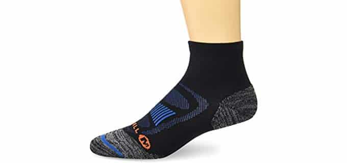 Merrell Men's Hiker - Hiking Socks for Standing All Day