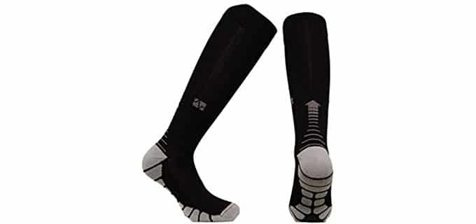Vitalsox Unisex Italy - Silver Technology Compression Socks for Travel