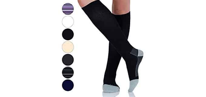 April Tex Unisex Cotton - Varicose Vein Relief Compression Sock