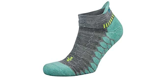 Balega Unisex Silver - Silver Technology Socks for Smelly Feet