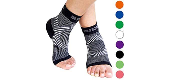 Blitzu Unisex Arch Support - Edema Compression Socks