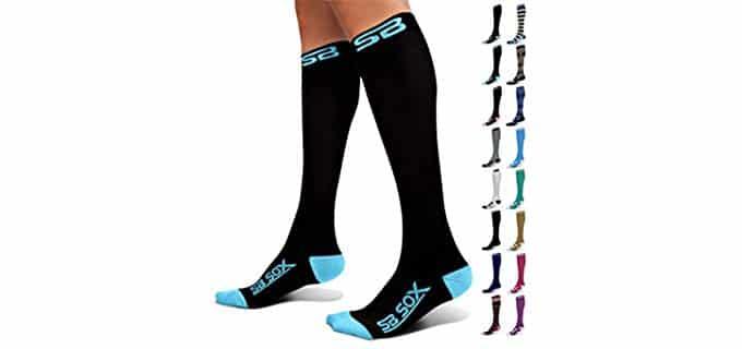 SB Box Unisex Copression - Edema Compression Socks