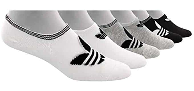 Adidas Women's Sports - No Show Sock for Flat Shoes