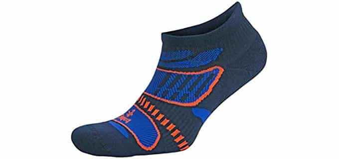 Balega Unisex No Show Athletes Socks - Thin Running Socks for Champions