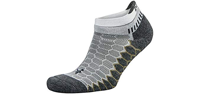 Balega Unisex Compression Fit - No Show Socks for Toenail Fungus