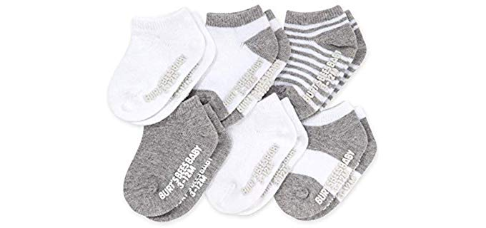 Burt's Bees Unisex Organic - Cotton Socks for Toddlers