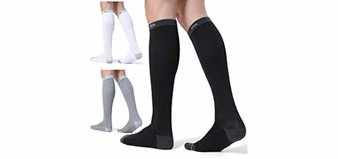 Celersport Unisex Nylon - OTC Socks for Walkng Long Distances