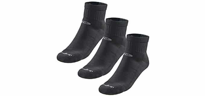 Drymax Unisex Quarter Running Socks - Dry Fast Trail Running Socks for Runners