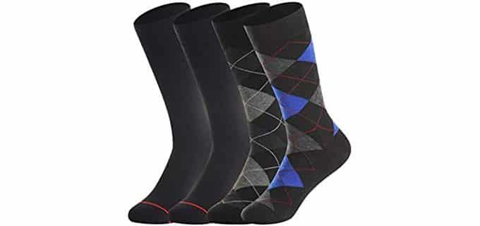 BonAngel Unisex Thermal - Merino Wool Dress Socks