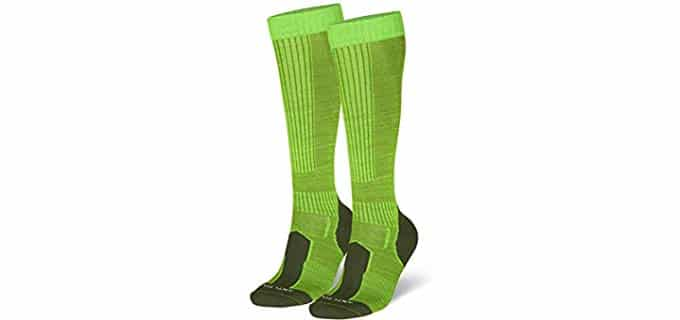 Danish Endurance Unisex Outdoor - Knee High Wool Socks