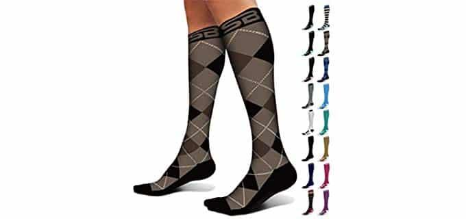 SB SOX Unisex Premium - Compression Socks for Shin Splints