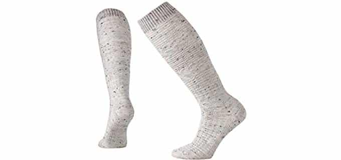 Smartwool Unisex WheatFields - Thick Wool Knee High Socks