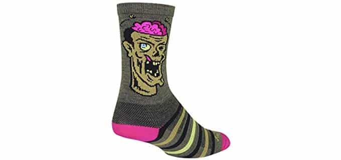 SockGuy Unisex Wool Compression Socks - Wool Blend Pressure Relieving Compression Socks