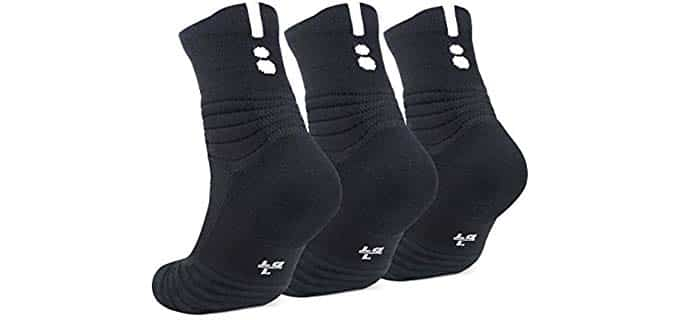 JHM  Unisex Compression -  Basketball Socks