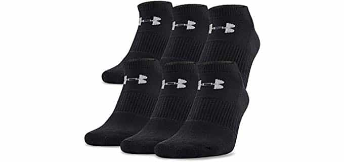 Under Armour Unisex High performance - Anti-odor No Show Socks for Vans