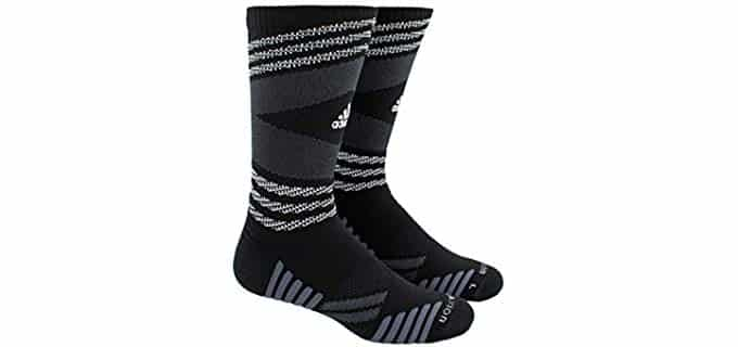 Adidas Unisex Speed Mesh - Crew Socks for Basketball