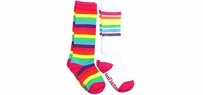 JuDanzy Kids's Coolrful - Knee High Tube Socks for Kids