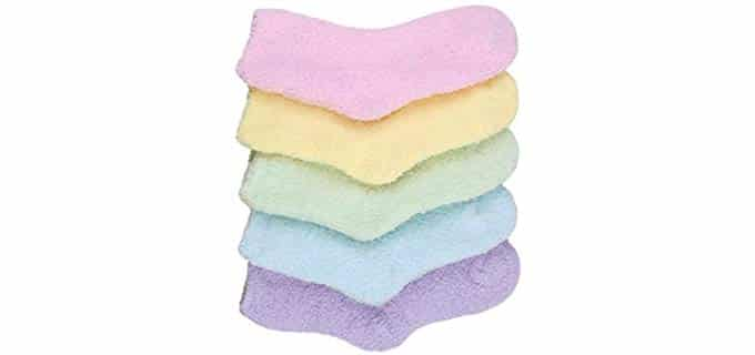 HASLRA Unisex Microfiber - Fuzzy Socks