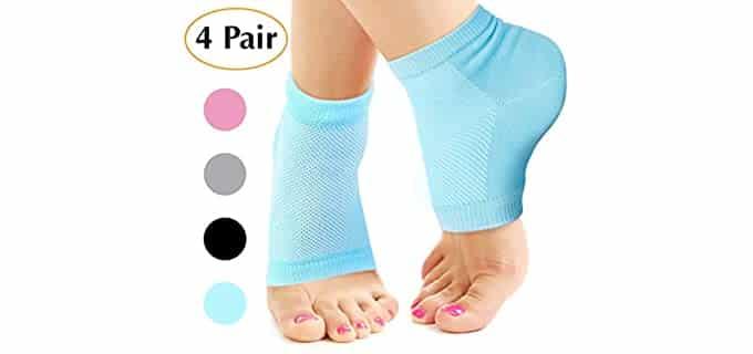 Nado Care Unisex Breathable - Premium Socks for Cracked Heels