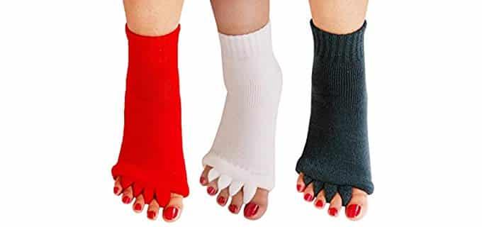 Nachvorn Unisex Yoga - Five Toe Socks