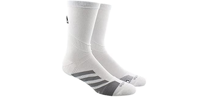 Adidas Unisex Traxion - Tennis Crew Socks