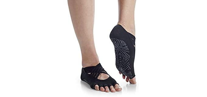 Gaiam 's Toeless - Anti-slip Socks