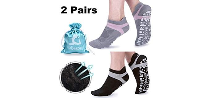 Muezna  's Anti-Skid - Socks for Yoga