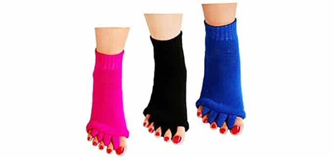 ReachTop 's Toeless - Bunion Corrector Socks