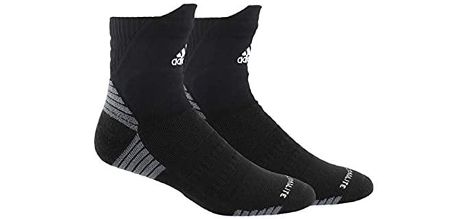 Adidas Unisex Alphaskin - Cushioned Socks For HIIT