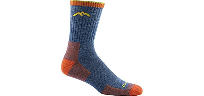 Darn Tough Men's Micro Crew - Cushion Socks For Converse