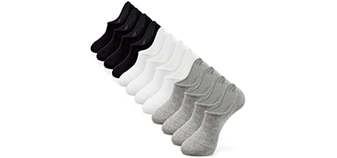IDEGG Unisex Low Cut - Socks For Converse Shoes
