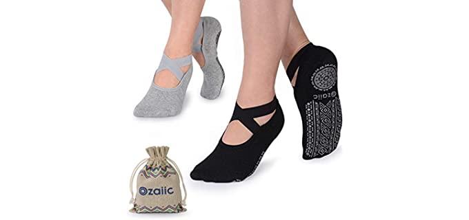 Ozaiic Women's Zumba - Socks for Dancers