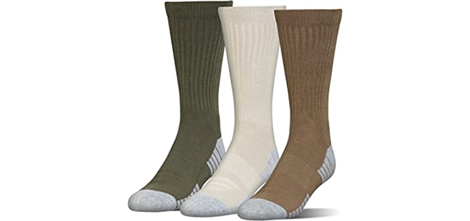 Under Armour Unisex Heatgear - Socks For Cowboy Boots