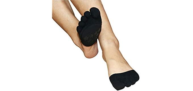 AUTPRO Women's Non Skid - Socks for Heels