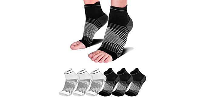 PAPLUS Unisex Thin - Soft Socks For Gout