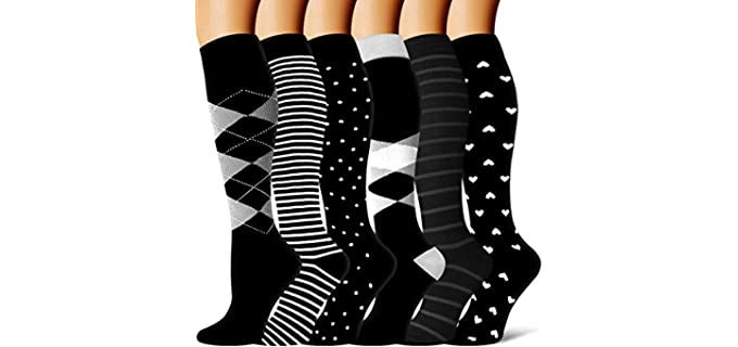 BLUEENJOY Unisex Athletic -  Socks for Crossfit